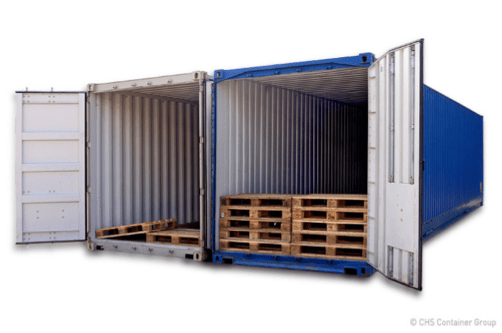 xChange offers every different container dimension including pallet wides