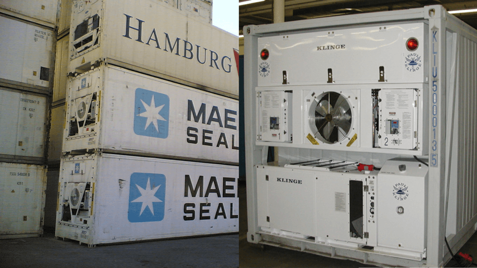 maersk reefer containers