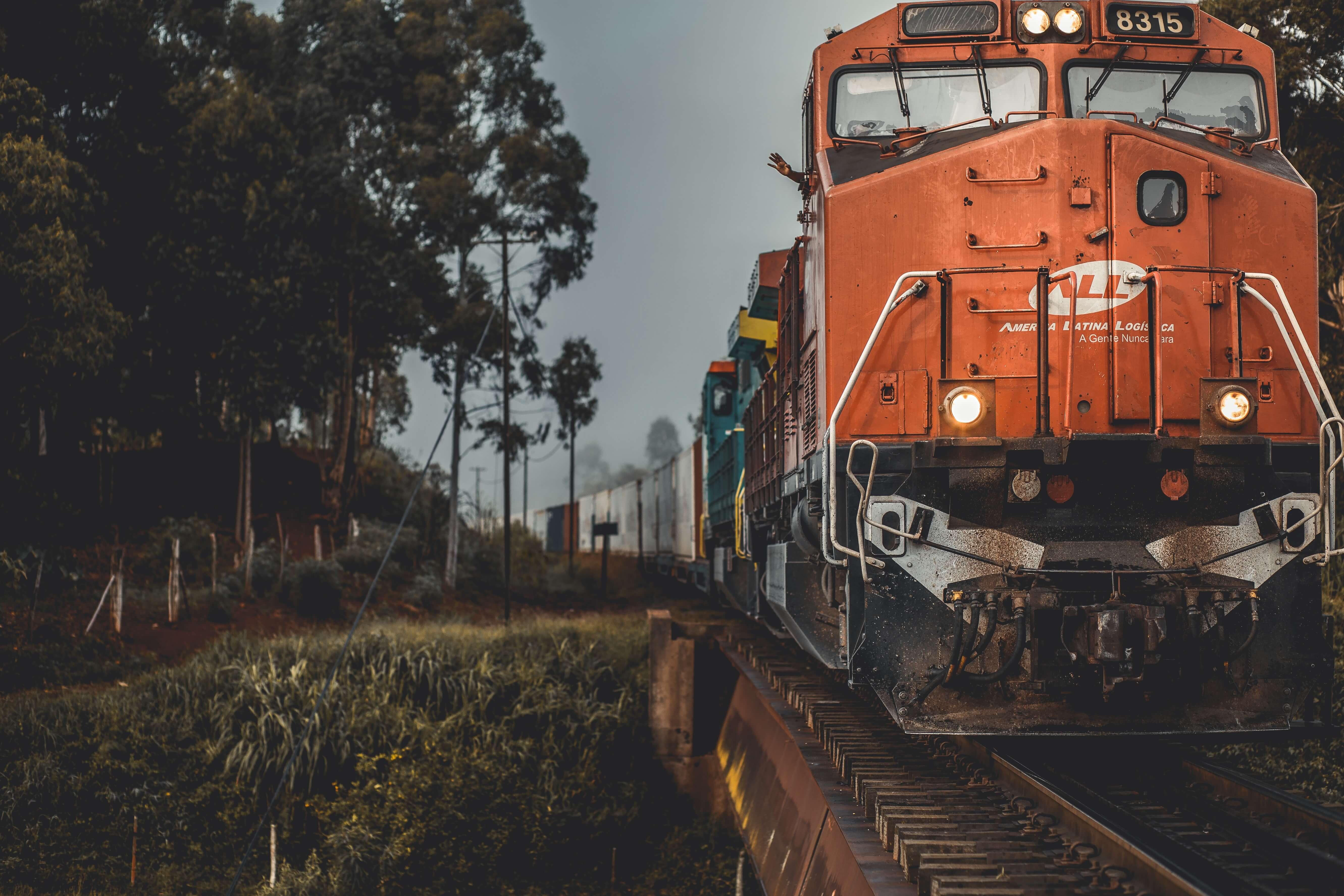 multi-modal transportation via rail