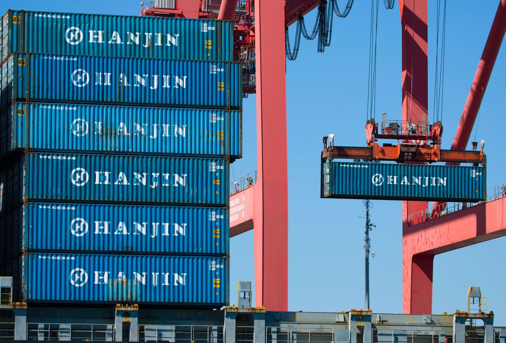 hanjin containers