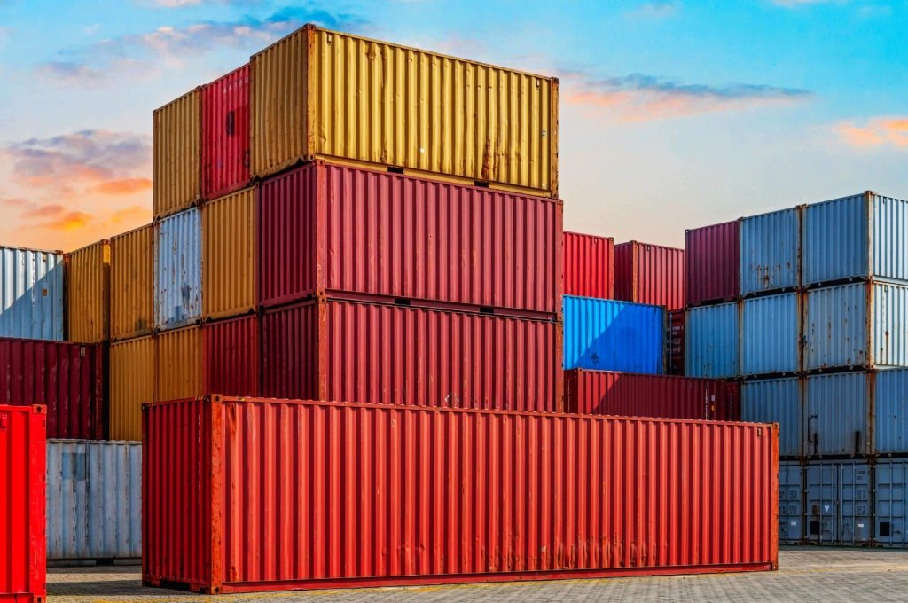 container in different sizes
