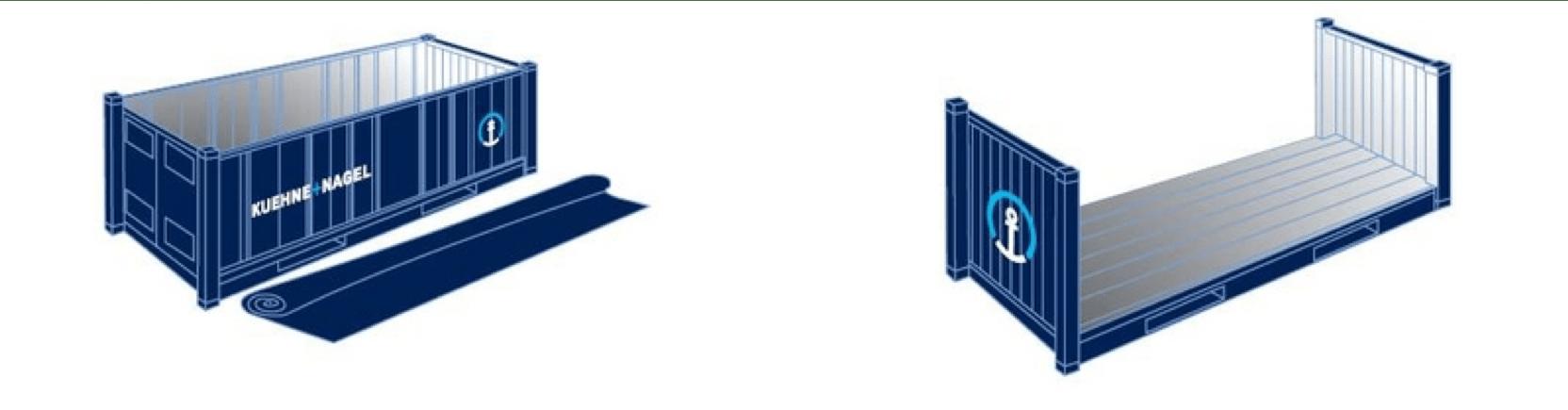 flat rack vs open top