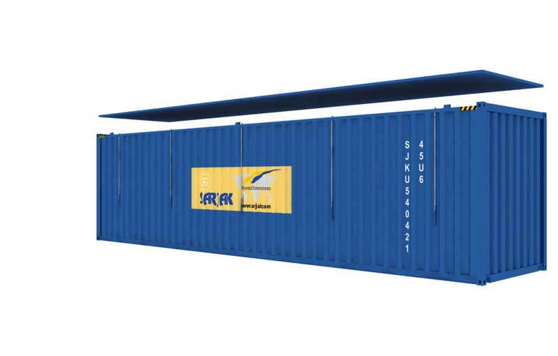 hard top container type