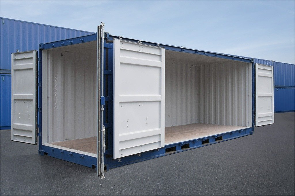 containers with side door