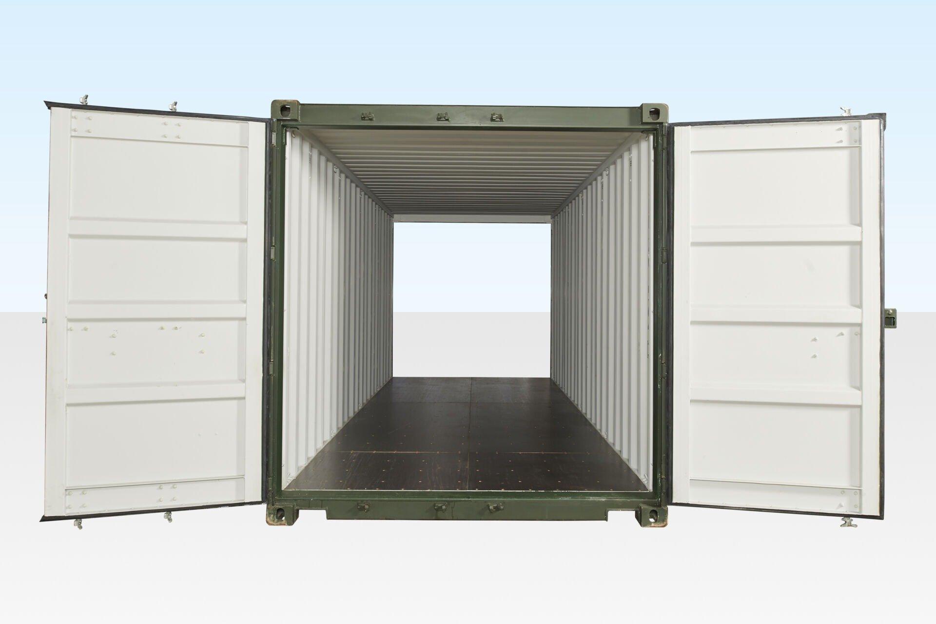 double door containers