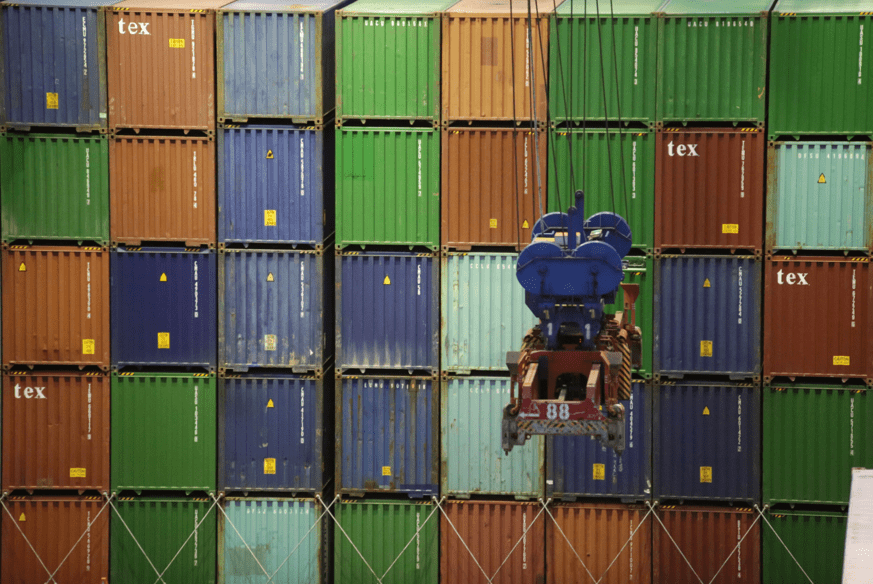 container racking test