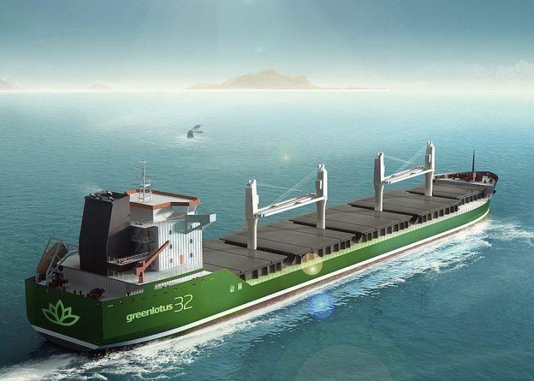 ship running on steam