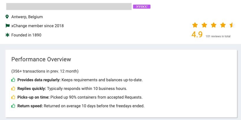 xchange platform review screenshot