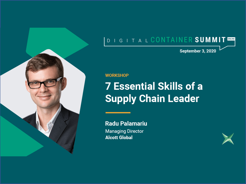 DCS Keynote Speaker Unveils the most important skills to succeed in the Supply Chain