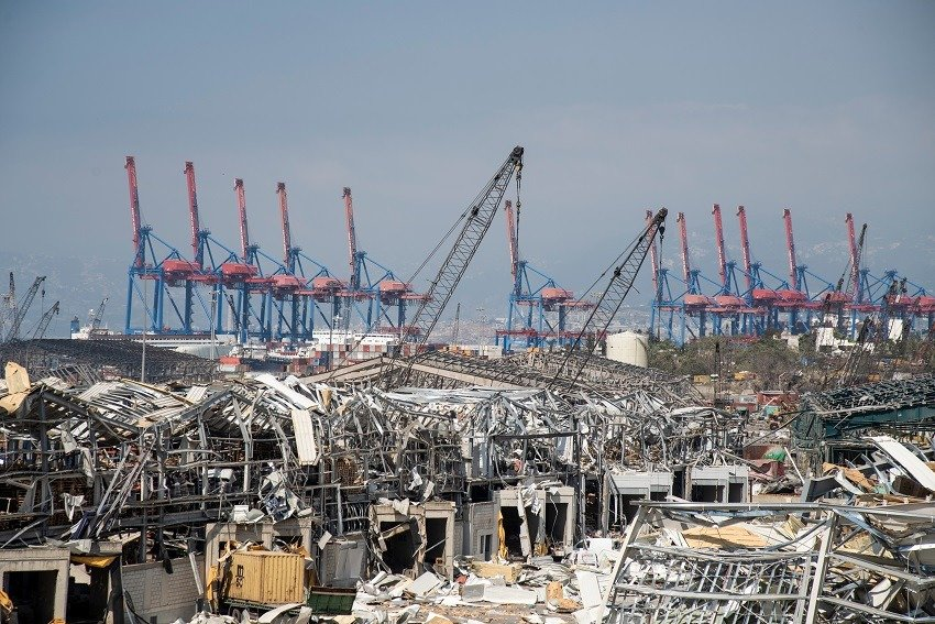 Impact of the Beirut disaster on container logistics