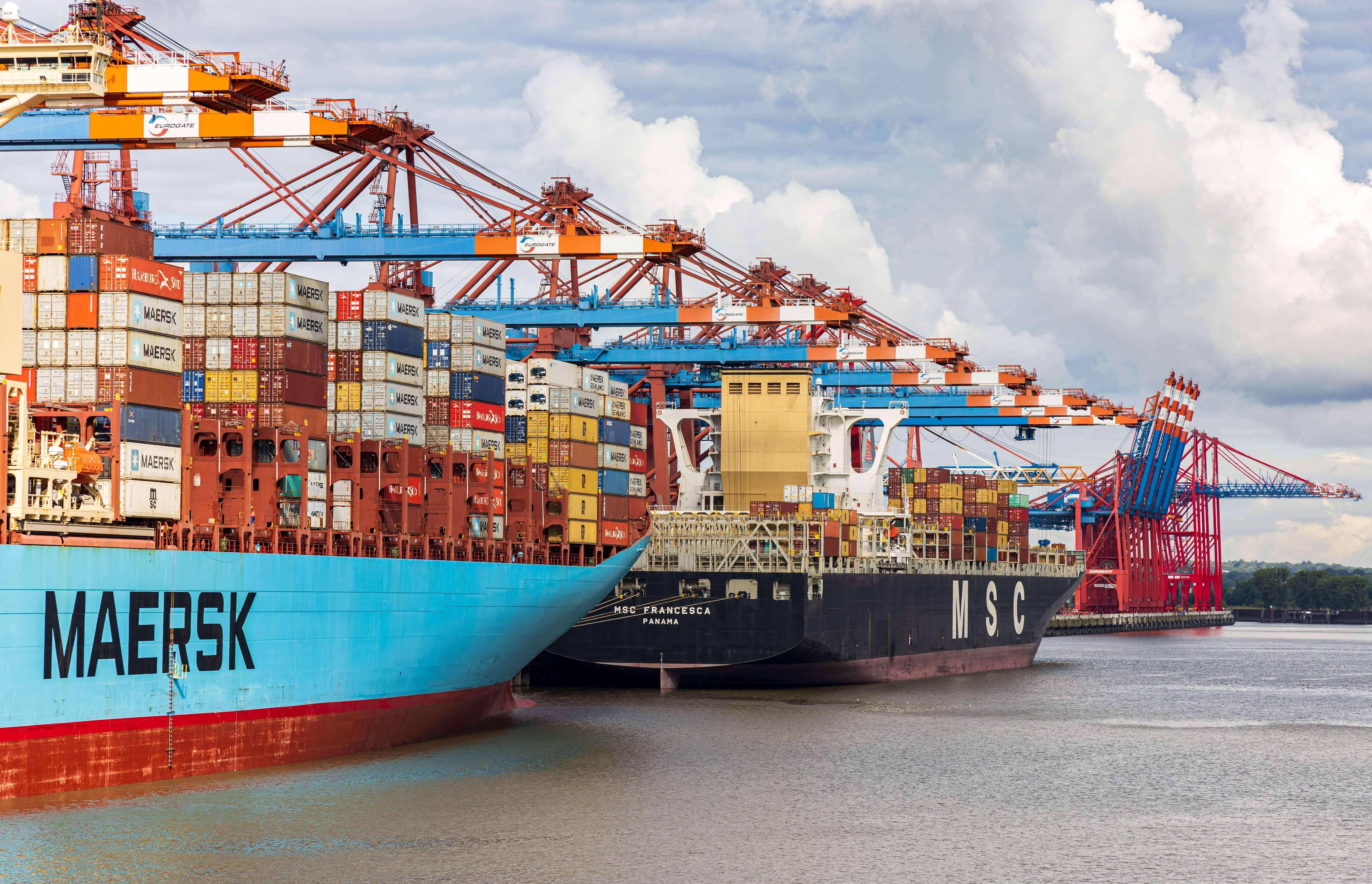 The EU the UK Brexit container logistics