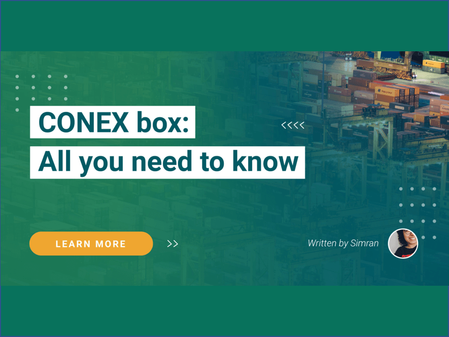 CONEX box: All you need to know