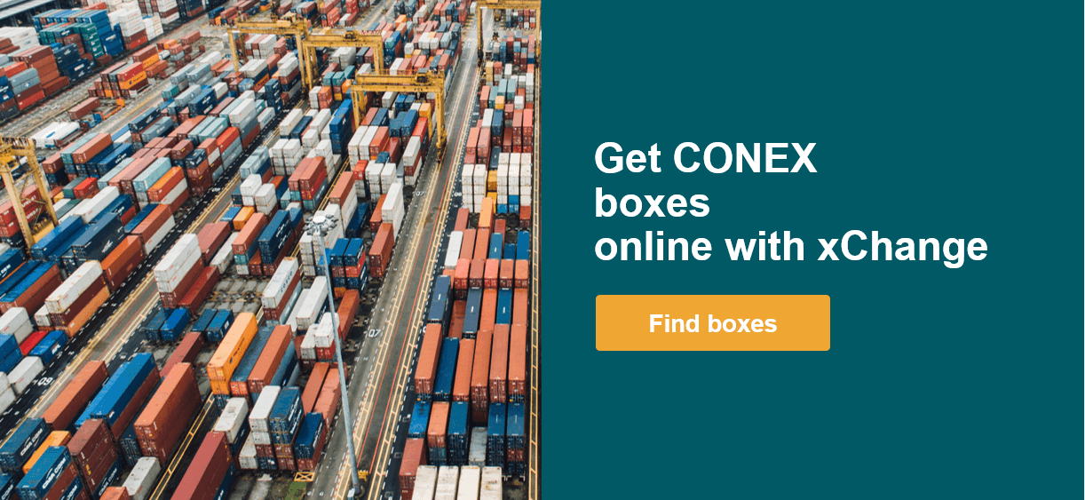 Find Conex boxes online with xChange