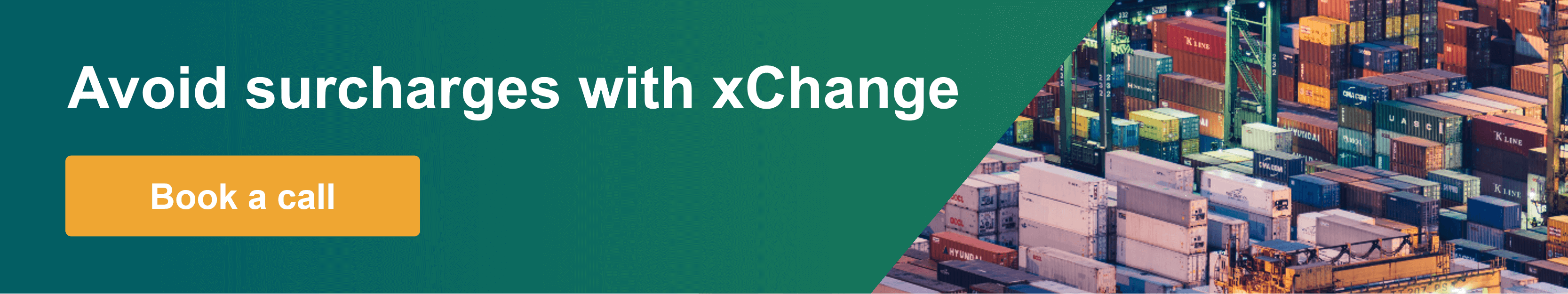 Reduce your surcharges with xChange