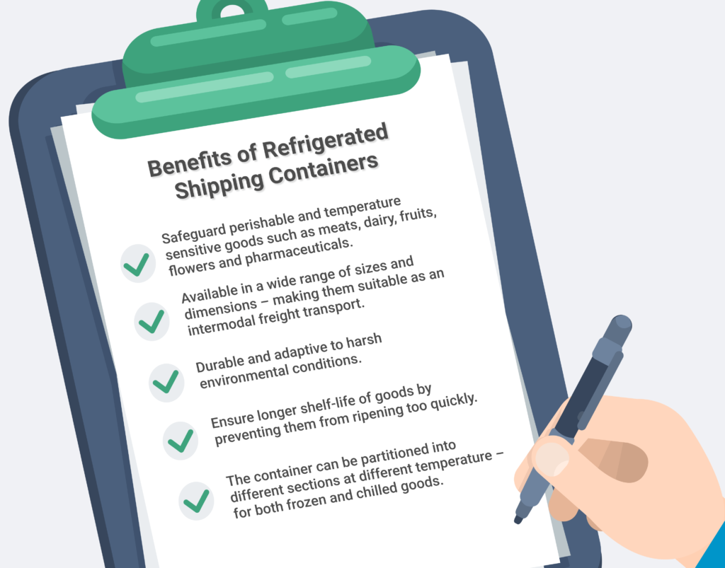 Benefits of Refrigerated Containers