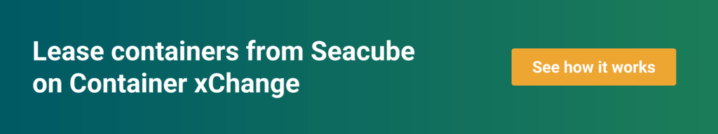 Seacube leases containers through the trading platform on xChange
